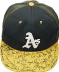 Autographs:Others, Mid-1980s Oakland Athletics Team Signed Cap....
