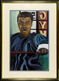 """Boxing Collectibles:Autographs, Ferdie Pacheco Signed Muhammad Ali Limited Edition Lithograph. The """"Fight Doctor,"""" Ferdie Pacheco, who served as the physic..."""
