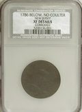 Colonials, 1786 COPPER New Jersey Copper, No Coulter--Corroded--NCS. XF Details....