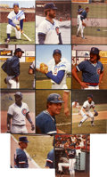 Autographs:Photos, Chicago Cubs Greats Signed Photographs Lot of 11....