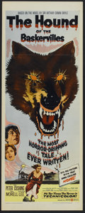 """Movie Posters:Mystery, The Hound of the Baskervilles (United Artists, 1959). Insert (14"""" X36""""). Mystery...."""