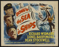 "Movie Posters:Adventure, Down to the Sea in Ships (20th Century Fox, 1949). Half Sheet (22""X 28""). Adventure...."