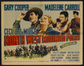 "Movie Posters:Adventure, North West Mounted Police (Paramount, 1940). Half Sheet (22"" X 28"")Style A. Adventure...."