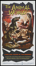"Movie Posters:Documentary, The Animal World (Warner Brothers, 1956). Three Sheet (41"" X 81""). Documentary...."
