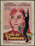 "Movie Posters:Romance, Funny Face (Paramount, 1957). French Grande (47"" X 63""). Romance...."