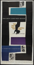 "Movie Posters:Drama, The Man With the Golden Arm (United Artists, 1955). Three Sheet(41"" X 81""). Drama...."