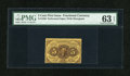 Fractional Currency:First Issue, Fr. 1228 5c First Issue PMG Choice Uncirculated 63 EPQ....
