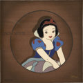 Animation Art:Production Drawing, Snow White and the Seven Dwarfs Snow White LimitedEdition Cel Recreation Original Art (Disney, undated)....