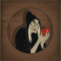 Animation Art:Production Drawing, Snow White and the Seven Dwarfs The Old Witch LimitedEdition Cel Recreation Original Art (Disney, undated...