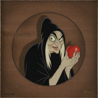 Snow White and the Seven Dwarfs The Old Witch Limited Edition Cel Recreation Original Art (Disney, undated