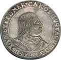 German States:Pomerania, German States: Pomerania. Carl X Gustaf of Sweden Taler 1655,...