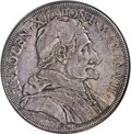 Italy:Papal States, Italy: Papal States. Innocent XI Scudo Year VII (1682),...