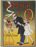 Books:First Editions, L. Frank Baum. The Magic of Oz. Chicago: The Reilly &Lee Co., [1919]....