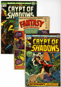Bronze Age (1970-1979):Horror, Crypt of Shadows Group (Marvel, 1973-75) Condition: Average VF-....(Total: 23 Comic Books)