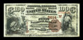 Albuquerque, NMT - $100 1882 Brown Back Fr. 530 The First NB Ch. # (W)2614