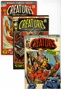Bronze Age (1970-1979):Horror, Creatures on the Loose Group (Marvel, 1972-75) Condition: AverageFN/VF.... (Total: 32 Comic Books)