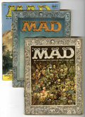 Magazines:Mad, Mad Group Magazines (EC, 1956-57).... (Total: 5 Comic Books)