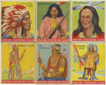 Non-Sport Cards:General, 1933 R73 Goudey Indian Gum Group of (60). ...