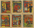 Non-Sport Cards:General, 1930 R25 Thrilling Stories Partial Set (29/60). ...