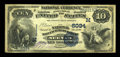National Bank Notes:Wisconsin, Neenah, WI - $10 1882 Value Back Fr. 577 The National Manufacturers Bank Ch. # (M)6034. ...