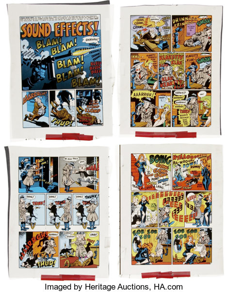 Wally Wood Complete 7-page Story Sound Effects! Reprint