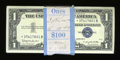 Small Size:Silver Certificates, Fr. 1621* (99) / Fr. 1621 $1 1957B Silver Certificates. Original Pack of 100. Choice Crisp Uncirculated.. ... (Total: 100 notes)