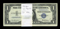 Small Size:Silver Certificates, Fr. 1619* (76) / Fr. 1619 (24) $1 1957 Silver Certificates. Pack of 100. Choice Crisp Uncirculated.. ... (Total: 100 notes)