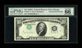 Error Notes:Inverted Third Printings, Fr. 2011-G $10 1950A Federal Reserve Note. PMG Gem Uncirculated66.. ...