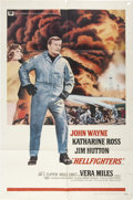 Memorabilia:Poster, Hellfighters Movie Poster (Universal, 1968)....