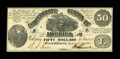 Confederate Notes:1861 Issues, T14 $50 1861.. ...