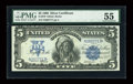 Fr. 279 $5 1899 Silver Certificate PMG About Uncirculated 55