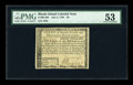 Colonial Notes:Rhode Island, Rhode Island July 2, 1780 $8 PMG About Uncirculated 53....