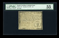 Colonial Notes:South Carolina, South Carolina October 19, 1776 $4 PMG About Uncirculated 55....