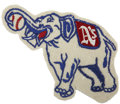 Baseball Collectibles:Others, 1940s Philadelphia Athletics Logo Patch....