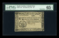 Colonial Notes:South Carolina, South Carolina December 23, 1776 $6 PMG Gem Uncirculated 65 EPQ....
