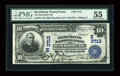 National Bank Notes:Pennsylvania, Harrisburg, PA - $10 1902 Plain Back Fr. 626 The Merchants NB Ch. #(E)3713. ...