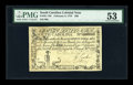 Colonial Notes:South Carolina, South Carolina February 8, 1779 $90 PMG About Uncirculated 53....