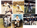 Autographs:Photos, New York Yankees Signed Photographs Lot of 6....