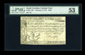 Colonial Notes:South Carolina, South Carolina February 8, 1779 $100 PMG About Uncirculated 53....