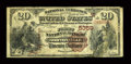 National Bank Notes:Kansas, Nortonville, KS - $20 1882 Brown Back Fr. 504 The First NB Ch. # (W)5359. ...