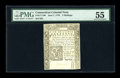 Colonial Notes:Connecticut, Connecticut June 7, 1776 5s PMG About Uncirculated 55....