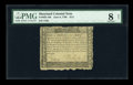 Colonial Notes:Maryland, Maryland June 8, 1780 $1/2 PMG Very Good 8 Net....
