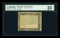 Colonial Notes:Maryland, Maryland June 8, 1780 $2/3 PMG Very Fine 25 Net....