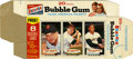 Baseball Cards:Singles (1960-1969), 1963 Bazooka Gum Complete Box with Willie Mays....