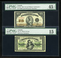Canadian Currency: , A Pair of Fractional Notes. ... (Total: 2 notes)