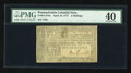 Colonial Notes:Pennsylvania, Pennsylvania April 10, 1777 2s PMG Extremely Fine 40....