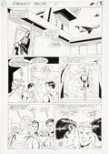 Original Comic Art:Panel Pages, Curt Swan and Mike Machlan Superboy Special #1, page 11Original Art (DC, 1992)....