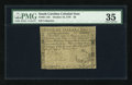 Colonial Notes:South Carolina, South Carolina October 19, 1776 $6 PMG Choice Very Fine 35....