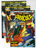Bronze Age (1970-1979):Horror, Tomb of Dracula Group (Marvel, 1974-75) Condition: Average NM-....(Total: 11 Comic Books)