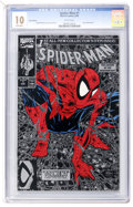 Modern Age (1980-Present):Superhero, Spider-Man (1990 series) #1 Silver Edition (Marvel, 1990) CGC GemMint MT 10.0 White pages....